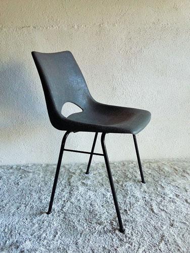 Chaise Coque Plastique Vintage