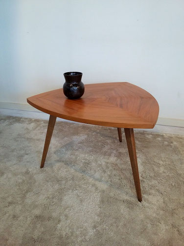 Table basse bureau enfant tripode vintage