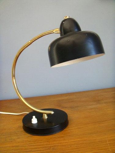 Lampe de bureau vintage années 50