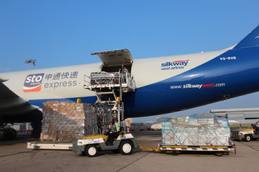 STO Express starts Europe service with Silk Way B747-8F – courtesy HACTL