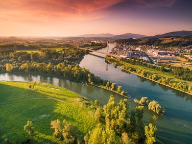 Isarmündung im Deggendorfer Land, Foto