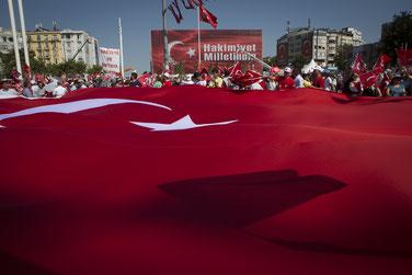 Der gescheiterte Putschversuch in der Türkei.  | Bild: Keystone