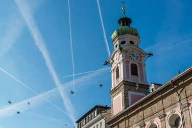 Spitalskirche in der Innsbrucker Altstadt
