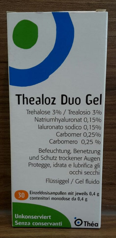Thealoz Duo Gel (Sicca Syndrom, Trockene Augen)