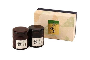 最高級美濃茶 みやび セット/有機肥料・減農薬の緑茶・粉末茶を使ったOEM・PB商品、オリジナル商品ならお任せ!美濃上石津の茶園、平塚香貴園(ひらつかこうきえん)