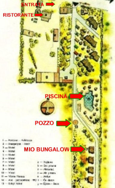 Villaggio Rasit Ener, turistik tesisleri