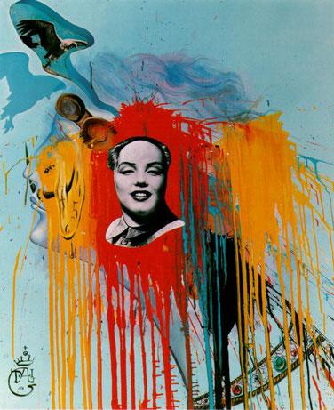 Автопортрет (1972) - Сальвадор Дали