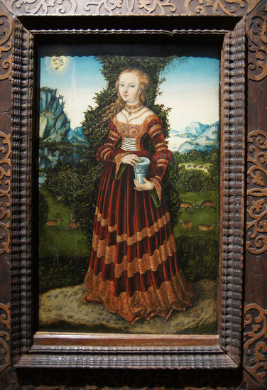 Lucas Cranach - Maria Magdalena, © Wallraf-Richarz-Museum Köln