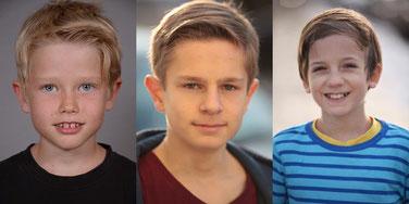 Leo , Eric , Lenny. Fotos:  Martin Douglas