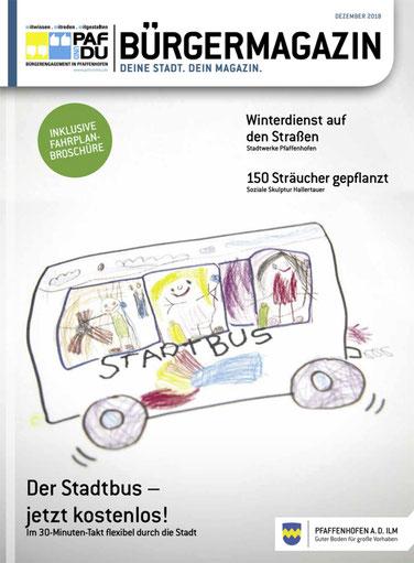 PAF und DU-Bürgermagazin 12/2018