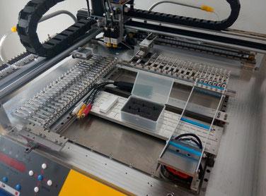 VP-2500D pick place machine nozzle changer