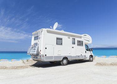 Reiseschutz-Paket für Wohnmobile und Selbstbehalt versichern