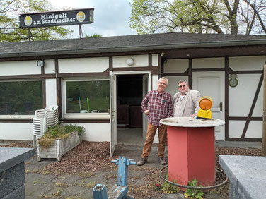Minigolfplatz Erftstadt | Neue Pächter
