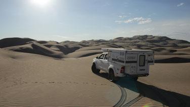 Selbstfahren in Peru: Wüste bei  Ica