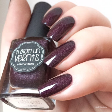 swatch il était un vernis cabernet sauvignon (Grand Crus Collection 2015)