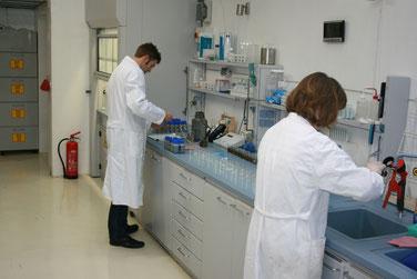 Untersuchung von Gülleproben aus Biogasanlagen im Labor
