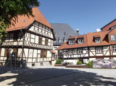 Wernigerode, et ses jolies maisons médiévales
