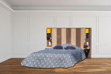 OHMYBED_Tête de lit décor effet bois