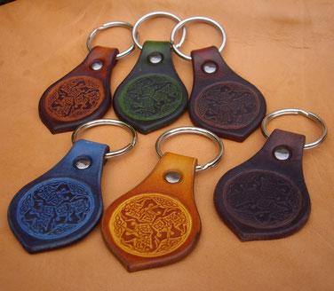 Porte-clés + anneau