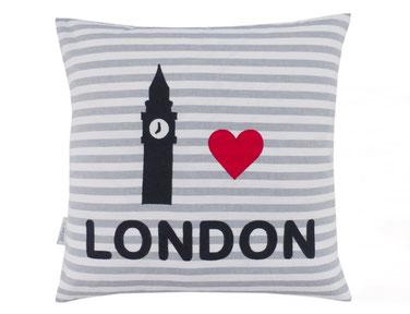 Kissen 40x40 LONDON Big Ben