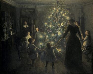 Weihnachtliche Bilder als Vorgänger des heutigen Adventkalenders