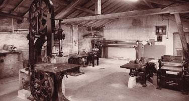 Falegnameria su misura di metà XX secolo
