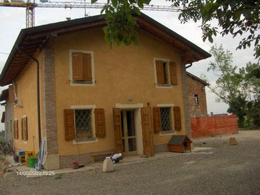 Casa Lucio Degani in ristrutturazione
