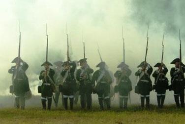 Darstellung der Schlacht von Kunersdorf durch historische Vereine (2009)