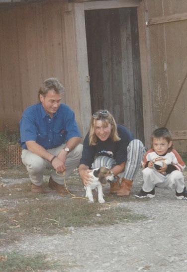 Bild (1997): Der erste gemeinsame Hund