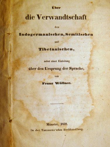 Das Titelblatt der Originalausgabe von 1838