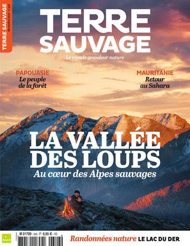Terre Sauvage ; La vallée des loups. Sauvage Max de nature