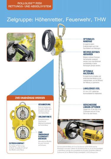 Rettungssystem Rollgliss R550