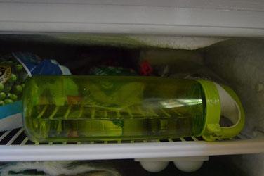 Wasser im Tiefkühlfach