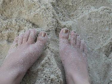 Füße im Sand Persönliche Geschenke für Teenager Jugendweihe Geschenk