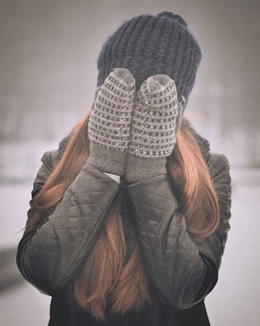 Teenager Kleidung für den Winter