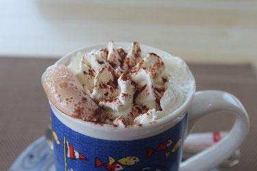 heiße Schokolade mit Sahne erlebnisgeschenk kinder jugendweihe geschenk