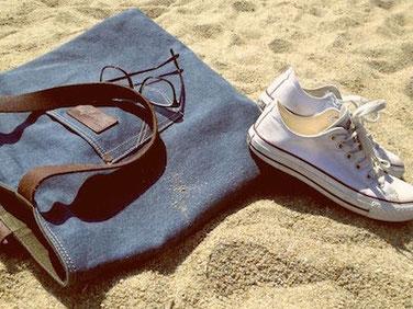 Schuhe am Strand 16 Geburtstag Geschenk Konfirmation oder Firmung