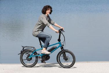 Falt- und Kompakt e-Bikes probefahren und kompetent von Experten beraten lassen in der e-motion e-Bike Welt Hombrechtikon