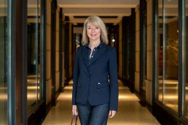 Frau Engler vom Citymanagement Hamburg
