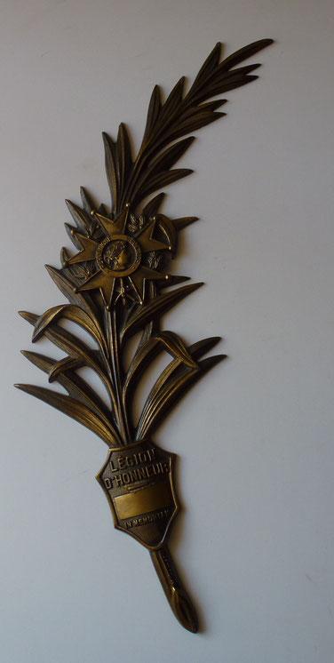 palme légion d'honneur bronze M Thomas