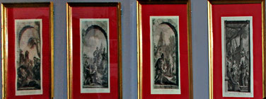 gravures d'Etienne Fessard