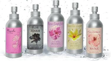 myRefan Eau de Toilette-Magnolia,Flor Negra,Rosa Centifolia Vanilla Sugar,Rosa Damascena Refan