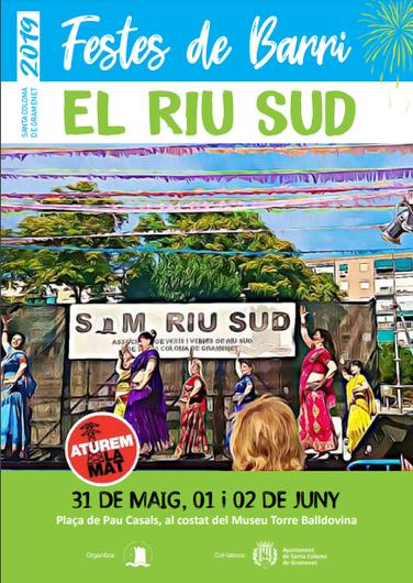 Fiestas en Santa Coloma de Gramanet Barrio Riu Sud
