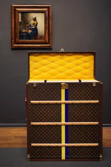 malle a tableau Vermeer Louis Vuitton
