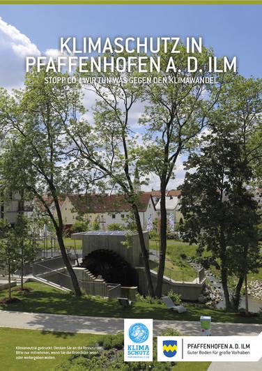 """Infobroschüre """"Klimaschutz in Pfaffenhofen a. d.Ilm"""""""