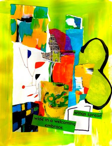 Art journal page by Shelley Klammer