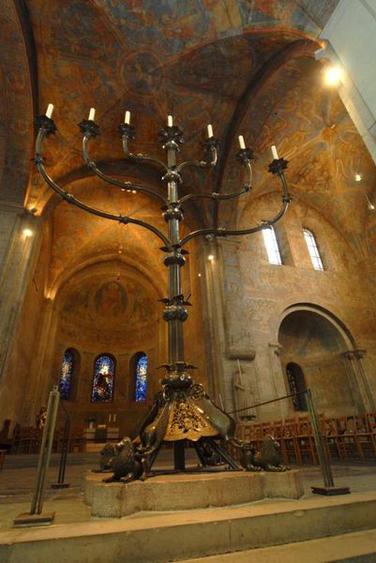 Der Leuchter im Braunschweiger Dom