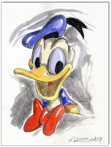 Donald Duck Faces V