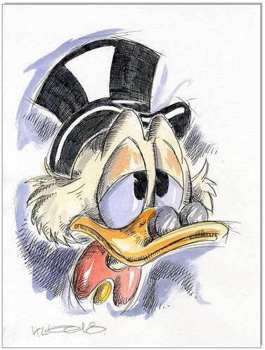 Dagobert Duck Faces II