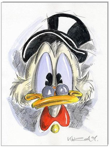 Dagobert Duck Faces I